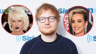 Ed Sheeran Weighs In On Taylor Swift's Feud With Katy Perry