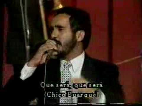 Ver Video de Willie Colon WILLIE COLON:    OH QUE SERA      -de Chico Buarque