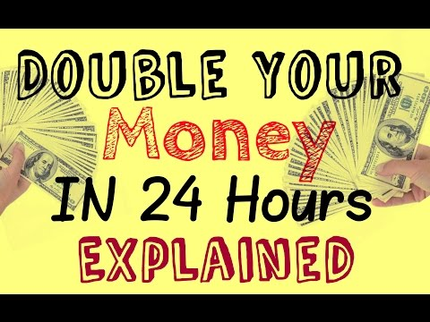 Double Your Money In 24 Hours - Explained | Join and Earn