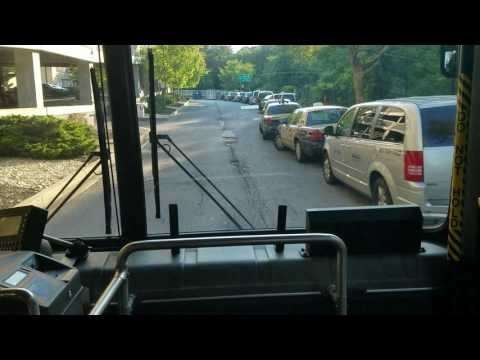 MTA MARYLAND:New Express Link Route 107 Full Ride Final Part