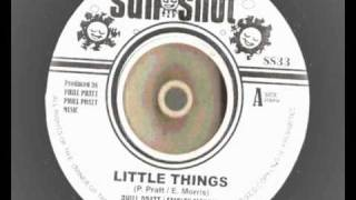 Hemsley Morris - Little things - Sunshot Records - Repress Rocksteady