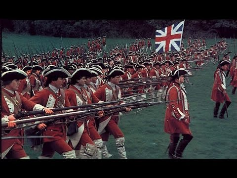 British grenadiers march — British line infantry attack
