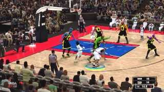 NBA 2K13 PC (Space Jam Mod) Gameplay