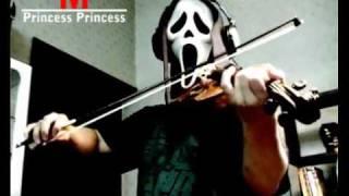 """played with violin """" M """" [ Princess_Princess]"""