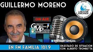Guillermo Moreno con Alberto Trombetta  15/05/19