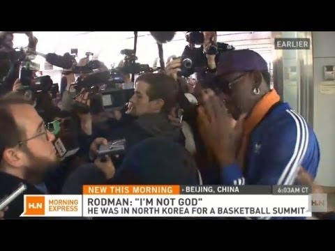 Rodman cracks under press pressure