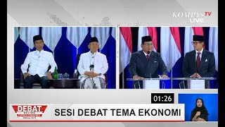Ketika Prabowo Sebut Presiden-Presiden Sebelum Jokowi Buat Ekonomi Indonesia Salah Arah