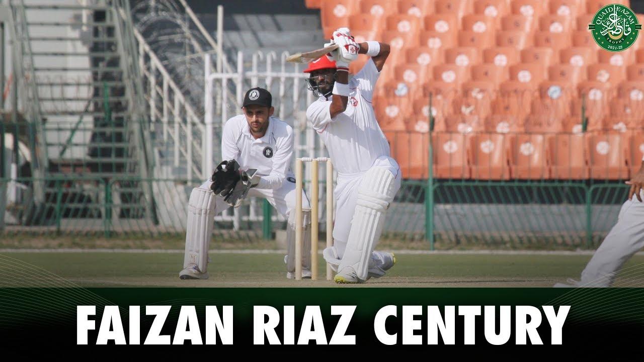 Faizan Riaz Century Highlights | Khyber Pakhtunkhwa vs Northern | Quaid e Azam Trophy 2021 | PCB