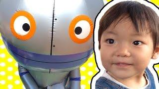 アンパンマン ミュージアム 名古屋 遊びに行ってきたよ おっきいだだんだんがいたよ カバオくんとちびぞうも会ってきたよ thumbnail