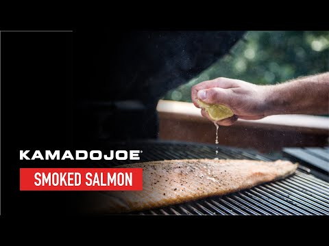 Kamado Joe Smoked Salmon