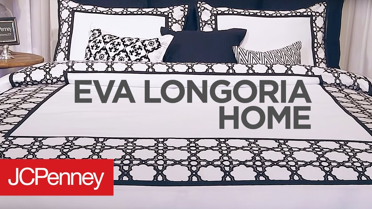 Eva Longoria Home Collection Bedding Sets Jcpenney Youtube