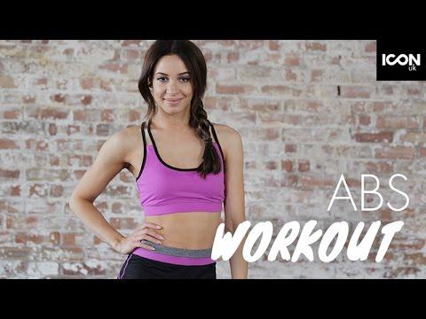 Abs Workout  Danielle Peazer
