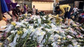Hoa ế chất hàng đống tại chợ hoa sỉ lớn nhất Sài Gòn