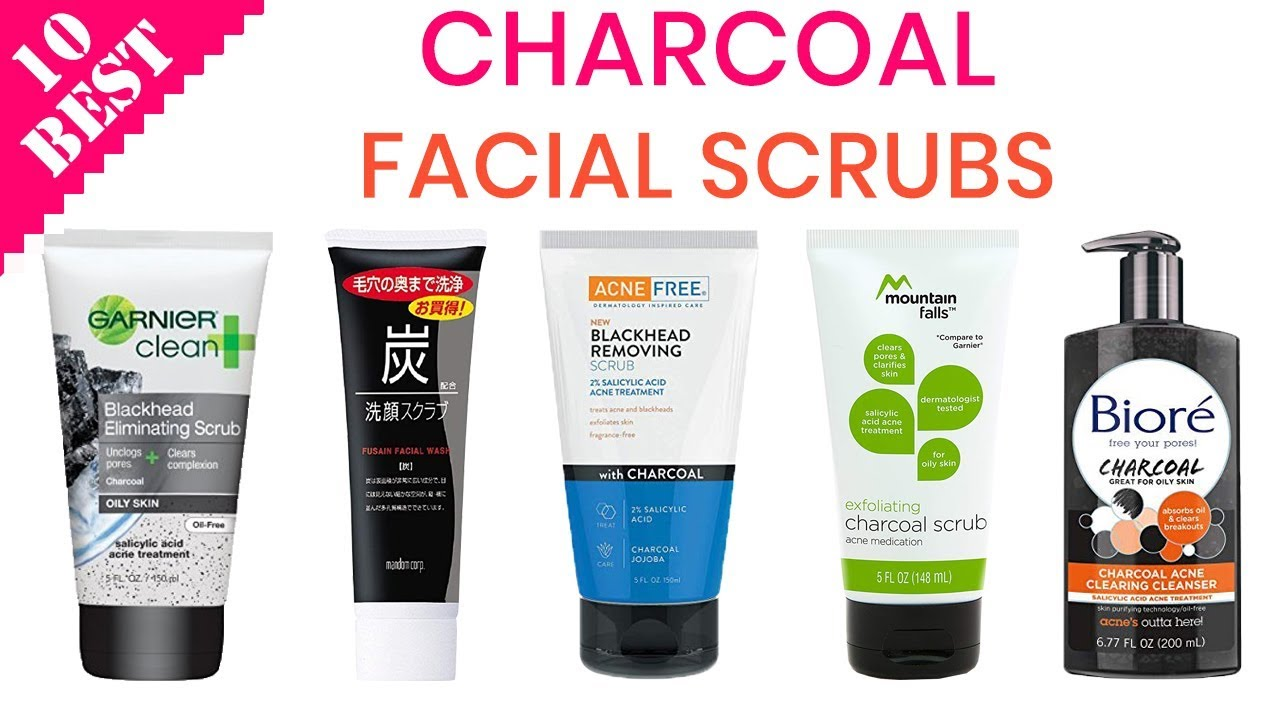 10 Best Charcoal Face Scrubs Of 2020 Best Scrubs For Acne Oily