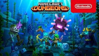 Minecraft Dungeons: Hidden Depths - Official Launch Trailer - Nintendo Switch