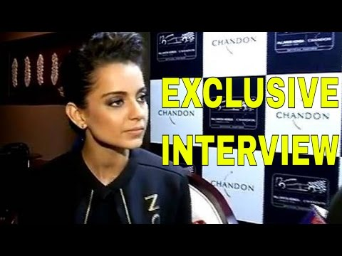 "Kangana Ranaut Speaks About ""Rangoon' 