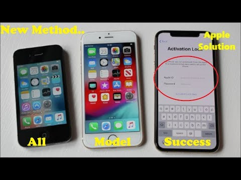 Remove iCloud Activation Lock✔ How To Reset iCloud Locked iPhone,iPad Account All Models