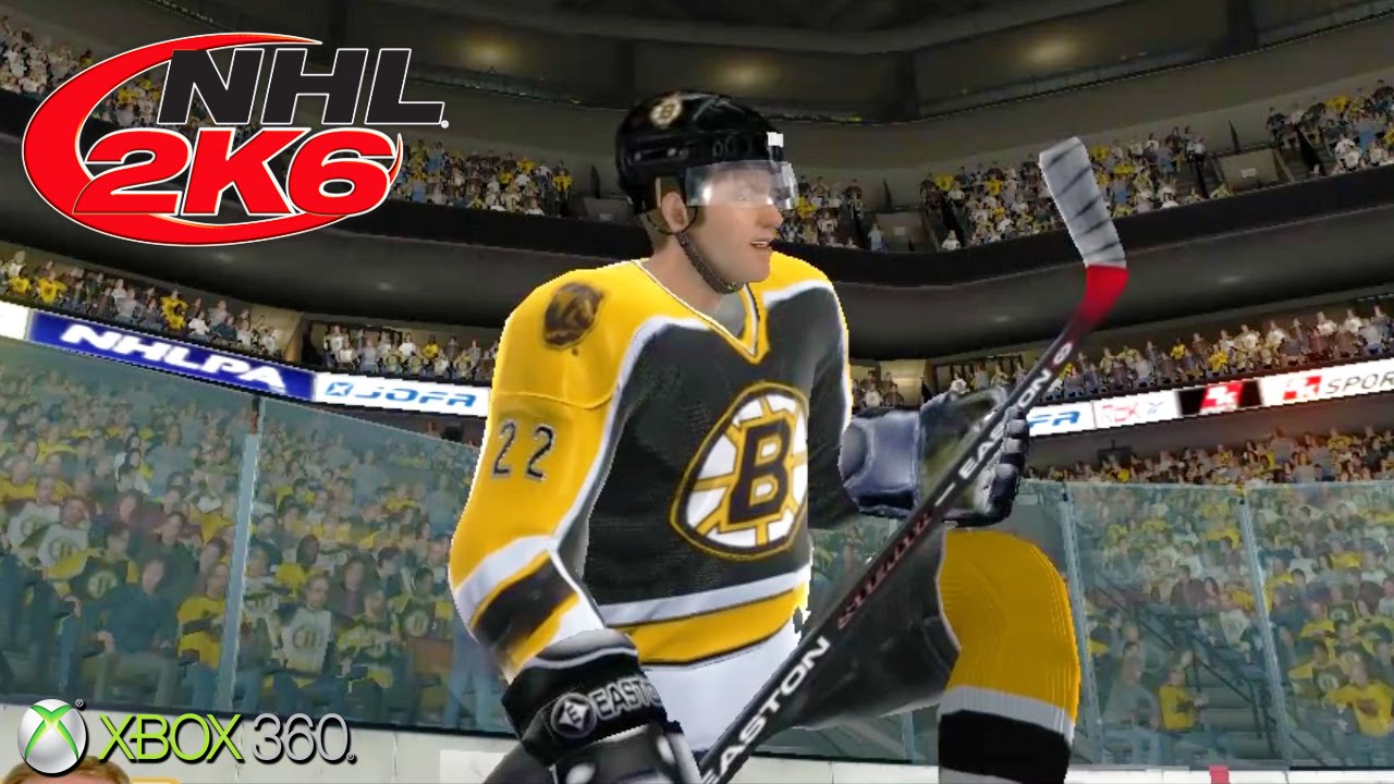 NHL 2K6 - Gameplay Xbox 360 (Release Date 2005) - YouTube