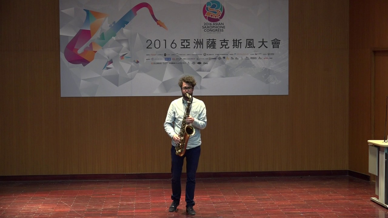 KRZYSZTOF URBANSKI / ROUND MIDNIGHT/ THELONIOUS MONK / FIRST ASIAN SAXOPHONE CONGRESS 2016