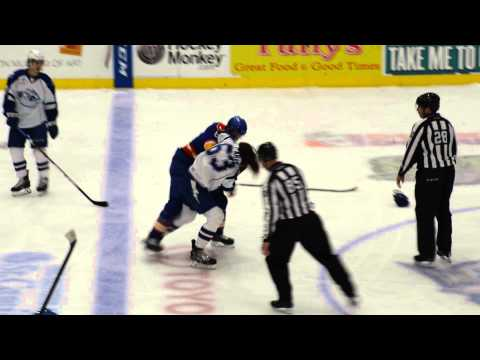 Crunch's Paradis Fights The Admirals' McIver