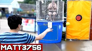 Dunk Tank Challenge - Cash Cube Game + More @ Alex's Lemonade Stand