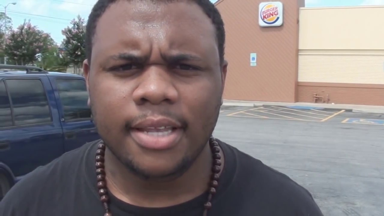 Black Man Angry at Burger King! @dcigs - YouTube
