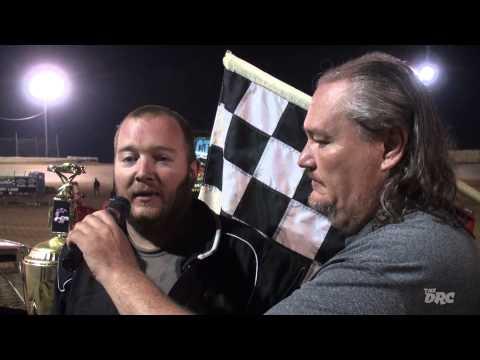 Moler Raceway Park | 8.14.15 | Ike Moler Memorial | Crazy Compact Feature Winner | Jason Borgemenke