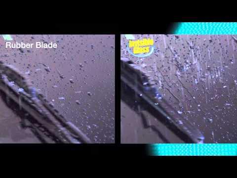Invisible Glass Silicone Wiper Blades
