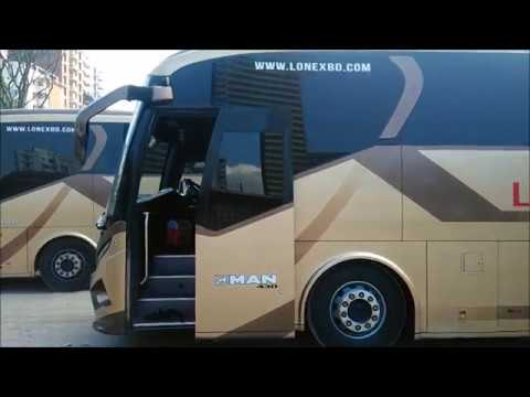 London Express MAN Business & Economy Class Bus Resting In Bangladesh