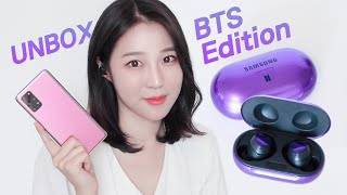 BTS edition💜 Galaxy S20+ & Buds+ Unboxing!