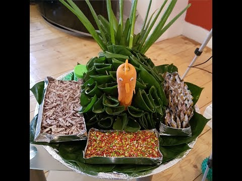 Peacock Paan Thaal for any occasion