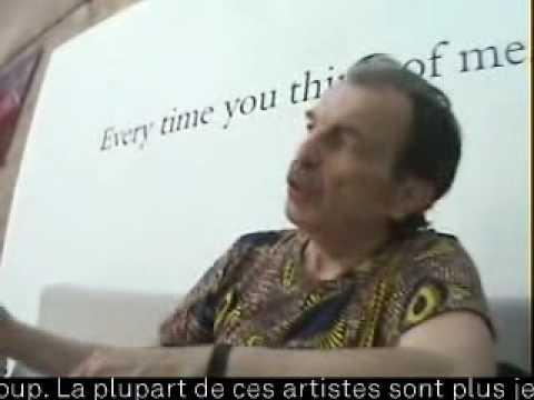 Printemps De Septembre - Interview Franz West