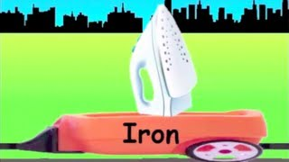 Learn Home Appliance Train - learning home appliances for kids