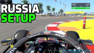 F1 2021 RUSSIA HOTLAP + SETUP (1:28.672)