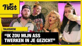 FABIOLA en SOPHIE MILZINK VERSIEREN RAPPER SJORS   MTV FIRST