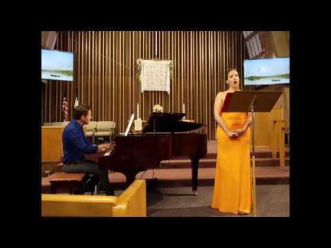 """""""There Will Come Soft Rains"""" (with Julia Benzinger, mezzo-soprano)"""