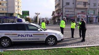 Polițiștii rutieri din Vaslui în acțiune  - 13 noiembrie 2017