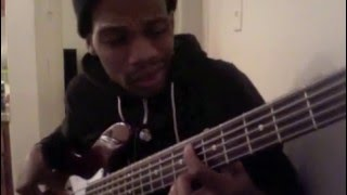 "ricky dillard live ""amazing"" bass cover"