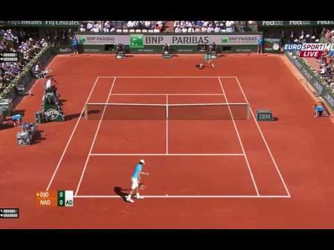 Rafael Nadal vs Novak Djokovic, Roland Garros 2014 Final Simulation on TE2013