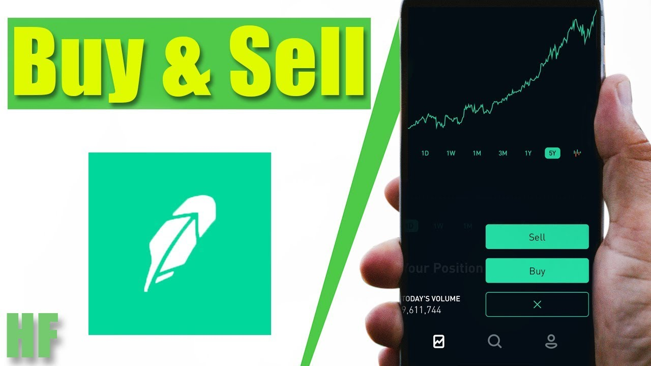 How to Buy and Sell Stocks on Robinhood | Beginner App Tutorial