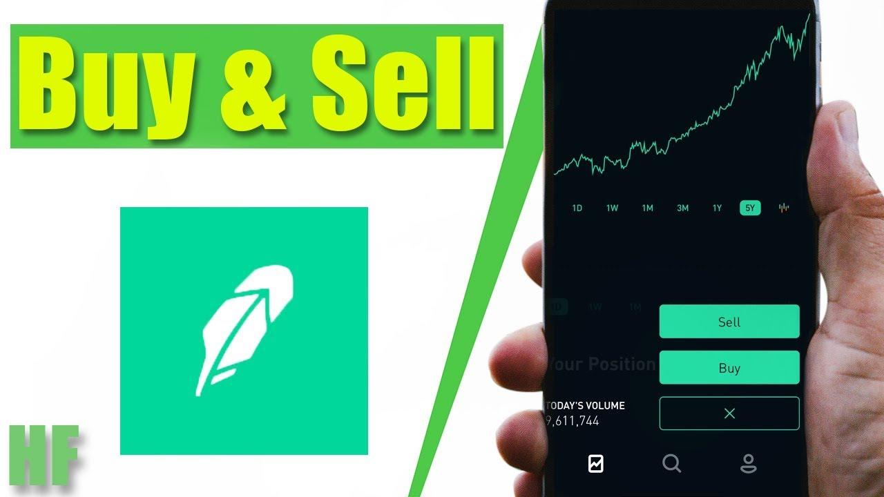 How to Buy and Sell Stocks on Robinhood | Beginner App Tutorial
