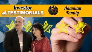 Adamian Family - Strategic Legacy Investment Group-Investor Testimonial