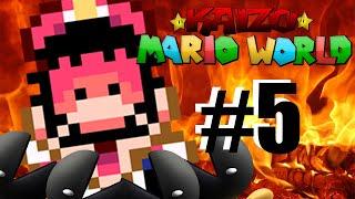 EL NIVEL MÁS COMPLICADO DEL HACK - Kaizo Mario World Ep. 5