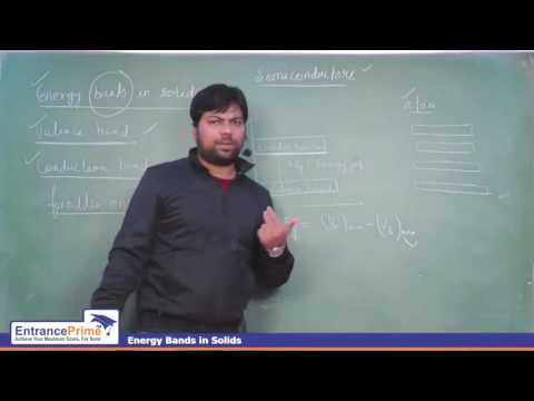 Electronic Devices - Semiconductor (Step By Step Explaination) | A T Sir From EntrancePrime Kota