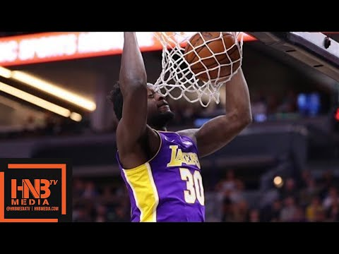 Los Angeles Lakers vs Minnesota Timberwolves 1st Qtr Highlights / Feb 15 / 2017-18 NBA Season