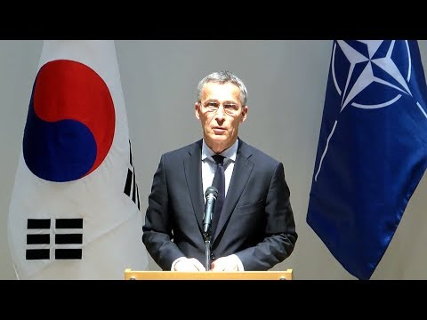 NATO Secretary General at ASAN Institute for Policy Studies, Seoul, 2 NOV 2017, Part 1/2