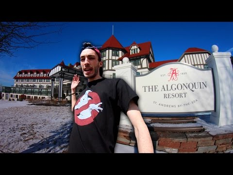Exploring Most Haunted Hotel In Canada (CREEPY NOISE)