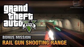 GTA 5 - Rail Gun Bonus Challenge - Shooting Range Gold Medals [PS4 & Xbox One]