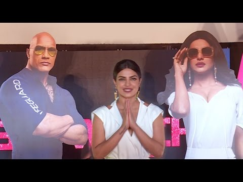 Baywatch Movie Trailer Launch India Full Video - Priyanka Chopra, Dwayne Johnson | Press Conference
