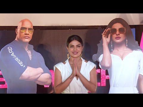 Baywatch Movie Trailer Launch India Full Video - Priyanka Chopra, Dwayne Johnson | Press Conference